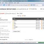 Установка вэб-интерфейса хранилища Subversion WebSVN