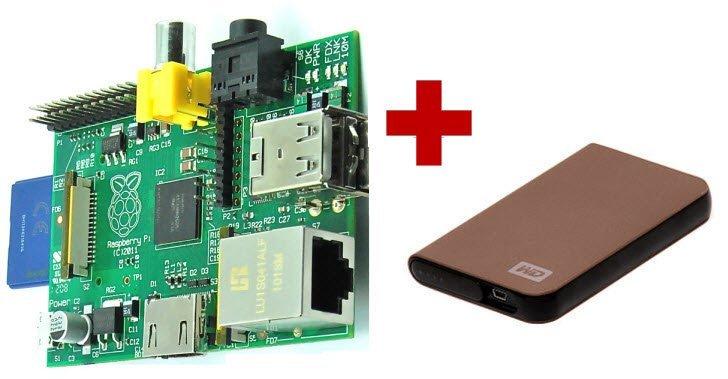 Настройка NAS на Raspberry Pi