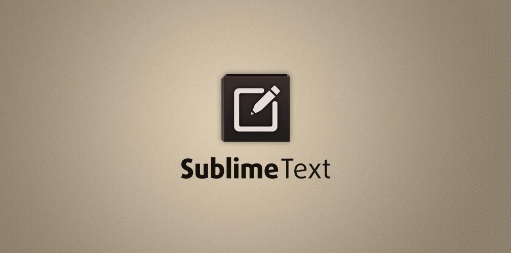 Установка Sublime Text 3