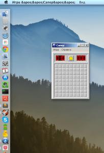 Популярная Windows игра Сапер