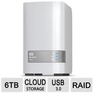 NAS WD My Cloud Mirror 6 TB