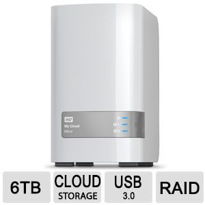 NAS WD My Cloud Mirror 6 TB