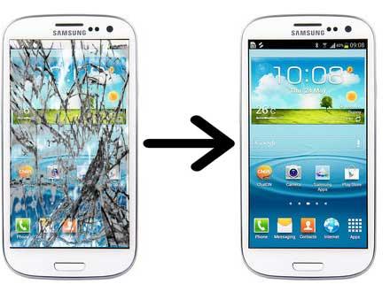 Samsung gt i9300 замена экрана