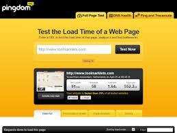 Pingdom Tools - самый популярный сервис теста скорости сайта