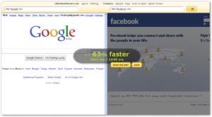 Whichloadsfaster - сравнение скорости загрузки 2х сайтов