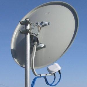 4G антенна с облучателам